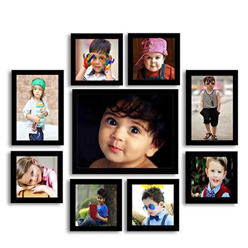 Aadinath Collection Super Classic Wooden Photo Frames (Individual Photo Frame Set of...