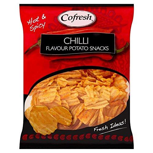 Cofresh Hot Chili Geschmack Kartoffel Falten (80 G)