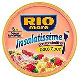 Rio Mare Insalatissime, Cous Cous con Tonno, Ceci, Piselli e Pomodorini - 220 gr