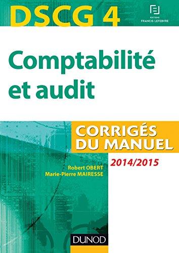 DSCG 4 - Comptabilité et audit - 2014/2...