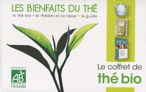 Les bienfaits du thé : Le coffret de thé bio avec le guide, le thé bio, la théière et sa tasse