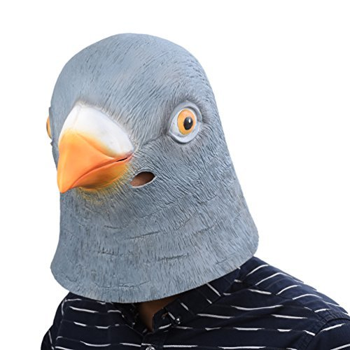 Party Story Novelty Latex Head Mask Costume Party Mask Animal Head Mask Pigeon