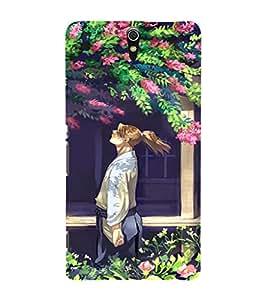EPICCASE Garden Mobile Back Case Cover For Sony Xperia C5 Ultra Dual (Designer Case)