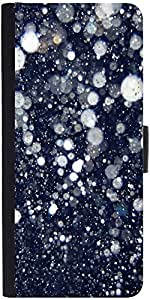 Snoogg Glitter nightDesigner Protective Flip Case Cover For One Plus One