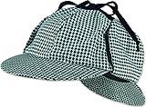 Sherlock Holmes Sombrero (color negro/blanco)