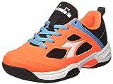 Diadora S. Fly Jr, Jungen Tennisschuhe, Orange (Arancio Nero), 30 EU
