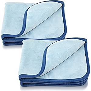 neuheit zur autopflege 2 x petzoldts microfaser trockentuch extra weich saugstark wasser. Black Bedroom Furniture Sets. Home Design Ideas
