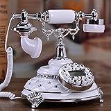 Wghz Telefonia Speciale Telefono Europeo Antico, Telefono Fisso di Rete Fissa, Regali creativi di Moda, Pacco di Telefono Americano di Tipo domiciliare Posta Elettronica, Scheda Wireless: Support