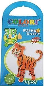 SUPER DAFFY-3D Fun plastilina, Modelos Surtidos
