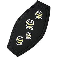 IQ - Company Uni Tauchmaskenband - Máscara de gafas y máscara de buceo, tamaño único, color negro