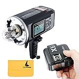 Godox AD600B Blitz TTL Bowen-Einfassung GN87 600W HSS 1 / 8000s 2.4G drahtlos mit 8700mAh Lithium-Batterie im Freienstudio-Blitz-Blitz + X1T-N Blitz-Trigger-Übermittler für Nikon DSLR Kamera
