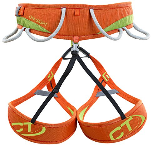 Climbing Technology Imbrago On-SIGHT taglia L con cosciali fissi e non regolabili per arrampicata