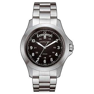 Hamilton Reloj Analogico para Hombre de Cuarzo con Correa en Acero Inoxidable H64451133