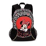 Disney Kinder Rucksack Minnie Mouse schwarz / rot