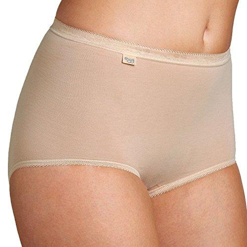 Sloggi Damen Slips, Basic+ Maxi, 3 Stück Skin