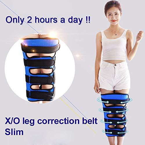 Meet O/X-Bein-Bein-Korrekturgürtel, verstellbare Orthese, angenehm weich atmungsaktiv einstellbar haltbares Material,Geeignet für Erwachsene und Kinder,M