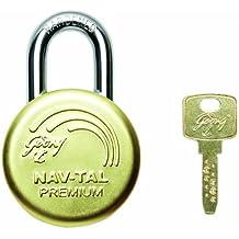 Godrej Locks Nav-Tal Premium Deluxe Hardened - 3 Keys