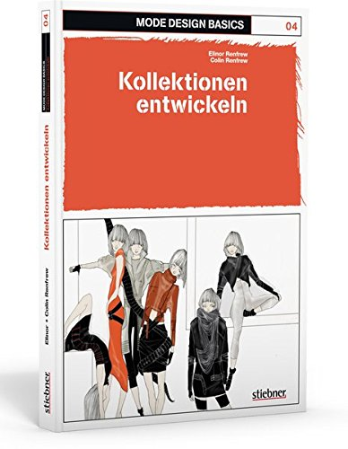 Mode Design Basics 04. Kollektionen entwickeln: Zweig der Modeindustrie, der mit der Herstellung von Stoffen befasst ist. Populärer oder neuester Stil ... Bekleidung, Haar, Dekoration oder Benehmen