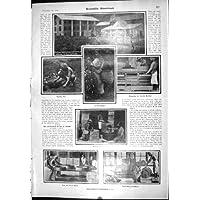 Tastiera Romana 1904 dell'Americano di Coltura del Tè delle Coolie dell'Organo Scientifico dell'Acqua