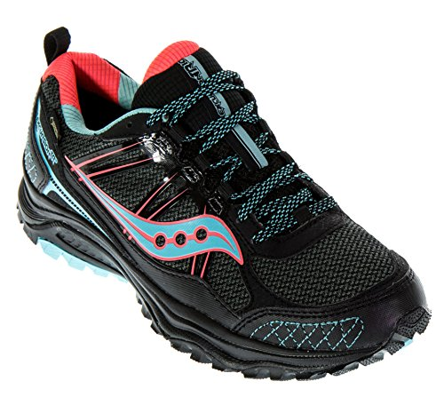 <span class='b_prefix'></span> Saucony Women's Excursion Tr10 Running Shoes, Grey/Blue/Coral, US