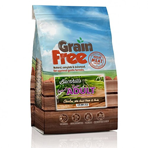 Burnhills Grain Free Chicken, Sweet Potato & Herbs Adult Dog Food 2Kg