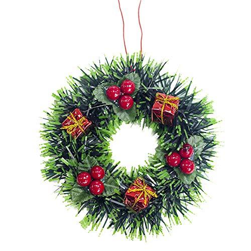 MAYOGO Dekoration Weihnachten Weihnachtsbaum Kieferkegel Garland Obst Anadem Home Wand Fensterbank Weihnachtsdekoration Hängende Verzierung