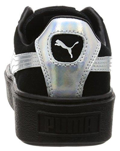 Puma Basket Platform Explosive Donna Sneaker Nero Black