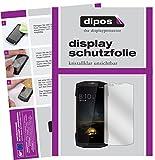 dipos I 2X Schutzfolie klar passend für Blackview BV9000 Pro Folie Bildschirmschutzfolie