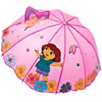 Nickelodeon Little Girls Dora Umbrellas, Pink