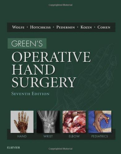 Green's Operative Hand Surgery, 2-Volume Set, 7e por Scott W. Wolfe MD, William C. Pederson MD, Robert N. Hotchkiss MD, Scott H. Kozin MD, Mark S Cohen MD