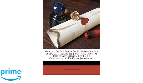 81d3a92cb325a Buy Manual de Las Fillas de la Misericordia