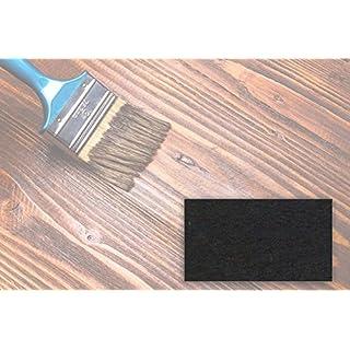 BEKATEQ 2,5L Holzlasur farbig aussen innen für Möbel Gartenhaus | UV-stabil - atmungsaktiv (Ebenholz)