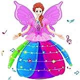 multifonction Musique poupée, Mamum Girl Dancing Princess multifonction Musique poupée LED pour animal domestique électronique robot