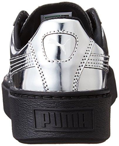 Puma Platform Metallic 36233906, Turnschuhe Silber