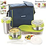 Magnus Nexus 5 Stainless Steel Lunch Box, 5 Pcs Set