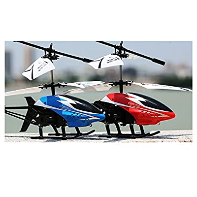 lulalula Channel RC Radio Remote Control Helicopter Toys Metal Large Outdoor Helicopter