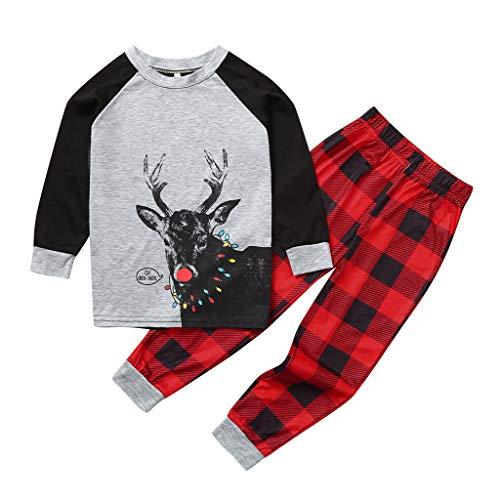 Vater Xmas Outfits - Likecrazy Weihnachtspyjama Familie,Mutter Vater Kinder Weihnachten