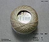 10 gr. Perlgarn, Stärke 8, Farbe: 387, Fabrikat: Anchor, Hardanger