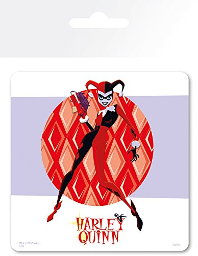 DC Comics Harley Quinn-Sottobicchiere, motivo: Gotham
