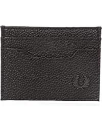 Fred Perry Scotchgrain Card Homme Wallet Noir