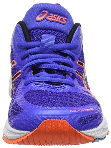 Asics Gel-Ds Trainer 22, Scarpe Running Donna Blu (Blue Purple/black/flash Coral)
