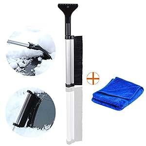 eisschaber schneebesen hicyct teleskopstiel 600mm zusammenschiebbar abs schont oberfl chen. Black Bedroom Furniture Sets. Home Design Ideas