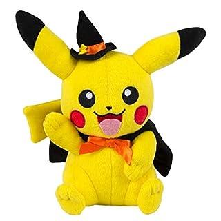Pokemon Plüschtier Halloween Edtion / Kuscheltier / Plüschsortiment Pikachu mit Hexenmütze / Hexenhut