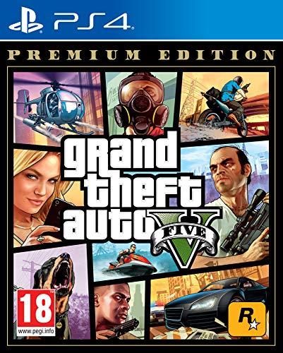 Grand Theft Auto V: Premium Edition - PlayStation 4 [Edizione: Regno Unito]