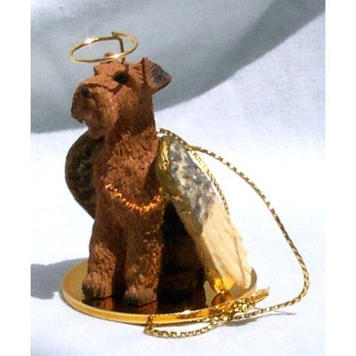 Airedale Terrier Angel Dog Ornament by Conversation Concepts -