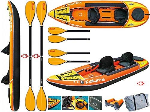 BIC Sport-Canoa hinchable kalyma Y1006+ 2Pagaia Beach Bic 31648Bic Sport