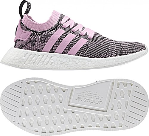 adidas Nmd_r2 Pk W, Sneakers Basses Femme Rose