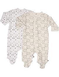 Pippi Nightsuit W/f -Buttons (2-pack) - Pyjama - Mixte bébé