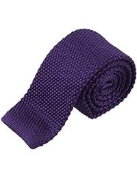 Corbata hombre,Gusspower Los Hombres De Punto Crochet Rayas Corbata Boda Fiesta CláSica Corbatas De Cuello