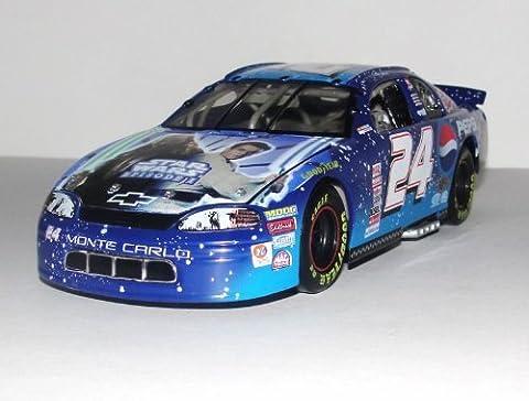 Action - Nascar - Jeff Gordon #24 - Pepsi Racing / Star Wars Episode I - 1999 Chevrolet Monte Carlo - 1:24 Scale Stock Car - by NASCAR